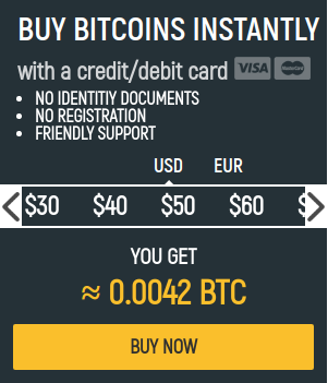buy bitcoin instantly with credit card from indacoin - banner
